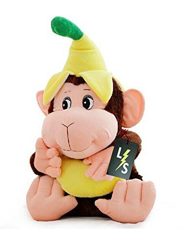 Toy - LightningStore Adorable Cute Banana Monkey Doll Realistic Looking Stuffed Animal Plush Toys Plushie Children's Gifts Animals