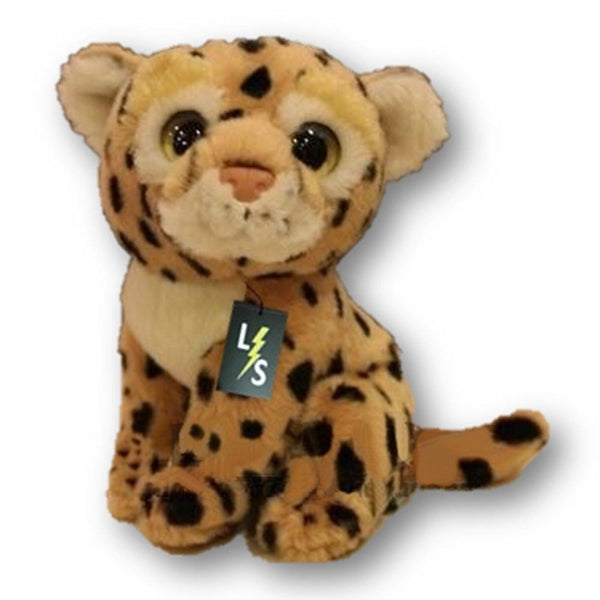 Toy - LightningStore Adorable Cute Big Eye Leopard Stuffed Animal Doll Realistic Looking Plush Toys Plushie Children's Gifts Animals