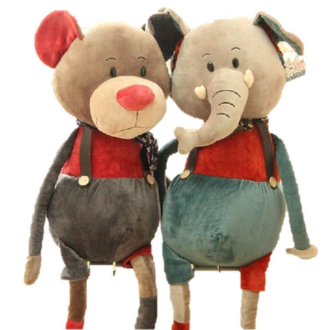 Toy - LightningStore Adorable Cute Big Giant Large Huge Long Leg Elephant Mouse Rat Doll Realistic Looking Stuffed Animal Plush Toys Plushie Children's Gifts Animals