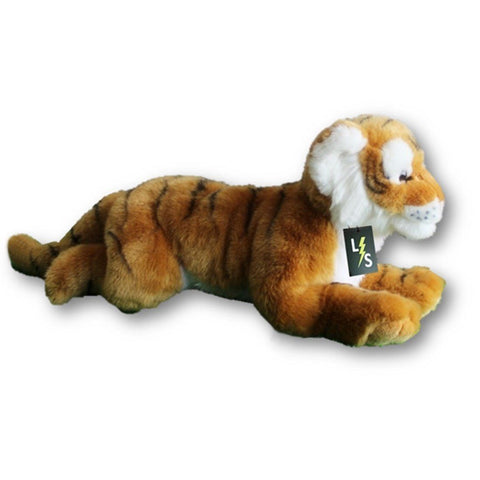 Toy - LightningStore Adorable Cute Big Giant Large Lying Sleeping Orange Bengal Siberian Tiger Stuffed Animal Doll Realistic Looking Plush Toys Plushie Children's Gifts Animals