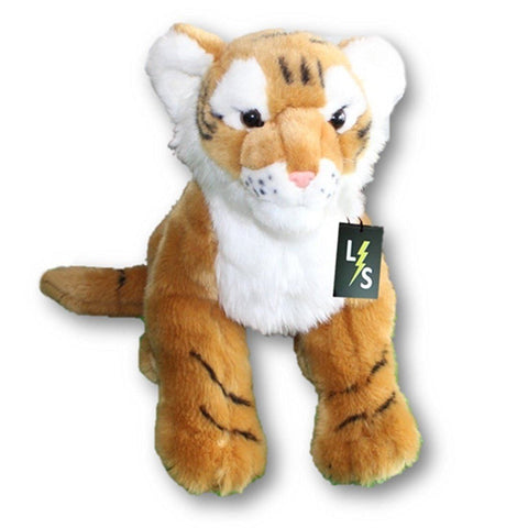 Toy - LightningStore Adorable Cute Big Giant Large Standing Orange Bengal Siberian Tiger Stuffed Animal Doll Realistic Looking Plush Toys Plushie Children's Gifts Animals
