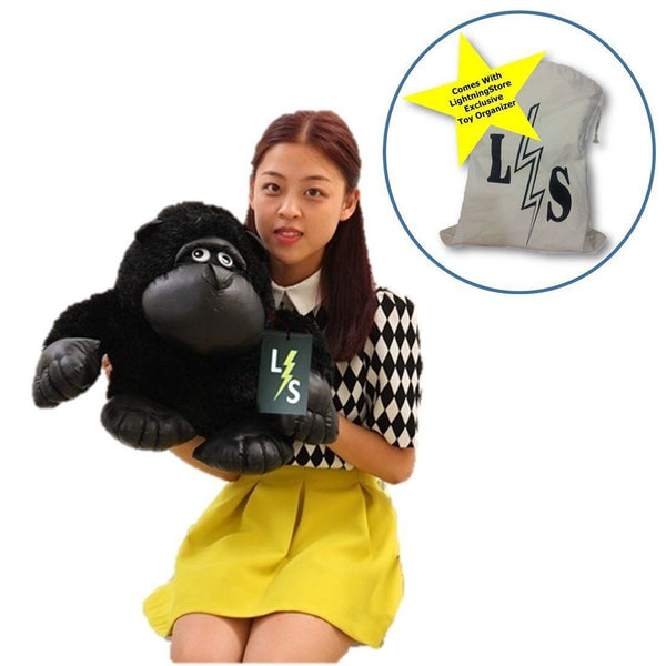 b16cf9aecd0e Toy - LightningStore Adorable Cute Black Gorilla King Kong Stuffed Animal  Doll Realistic Looking Plush Toys