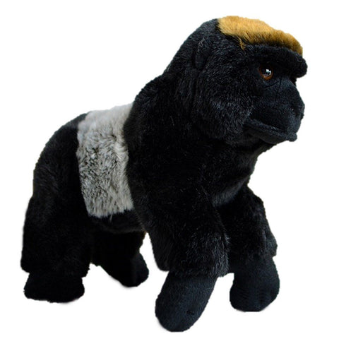 Toy - LightningStore Adorable Cute Black Gorilla Monkey Doll Realistic Looking Stuffed Animal Plush Toys Plushie Children's Gifts Animals