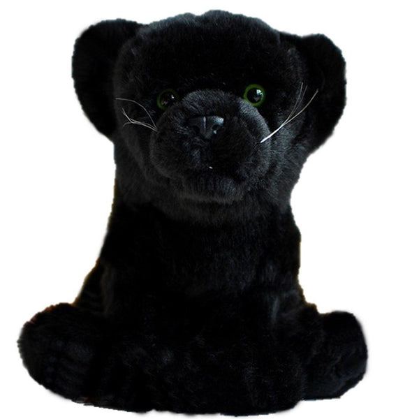 Toy - LightningStore Adorable Cute Black Panter Leopard Tiger Baby Cub Dog Puppy Doll Realistic Looking Stuffed Animal Plush Toys Plushie Children's Gifts Animals