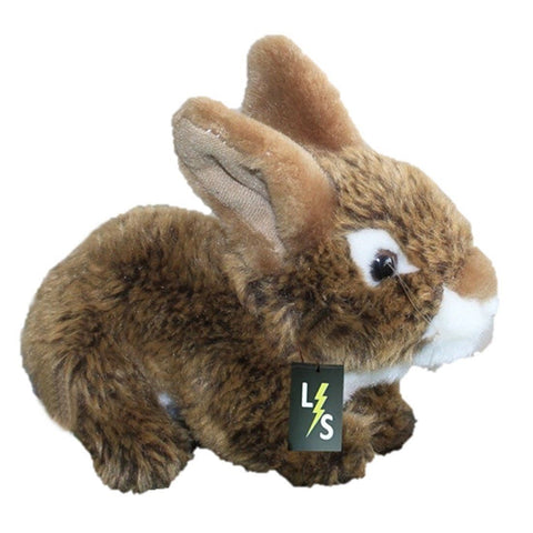 Toy - LightningStore Adorable Cute Brown And White Bunny Rabbit Stuffed Animal Doll Realistic Looking Plush Toys Plushie Children's Gifts Animals