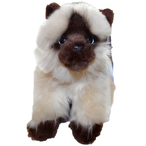 Toy - LightningStore Adorable Cute Brown And White Monkey Dog Puppy Dolls Realistic Looking Stuffed Animal Plush Toys Plushie Children's Gifts Animals