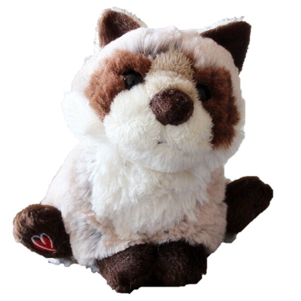 e0772656f6b3 Toy - LightningStore Adorable Cute Brown And White Patterned Racoon Doll  Realistic Looking Stuffed Animal Plush