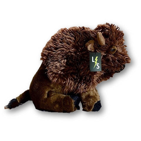 Toy - LightningStore Adorable Cute Brown Bison Yak Bull Mixed Hybrid Doll Realistic Looking Stuffed Animal Plush Toys Plushie Children's Gifts Animals