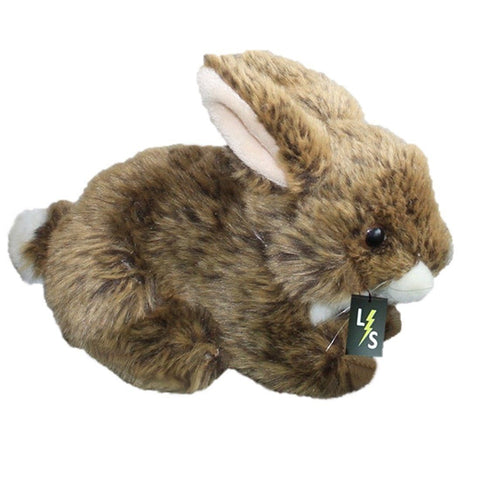 Toy - LightningStore Adorable Cute Brown Bunny Rabbit Stuffed Animal Doll Realistic Looking Plush Toys Plushie Children's Gifts Animals