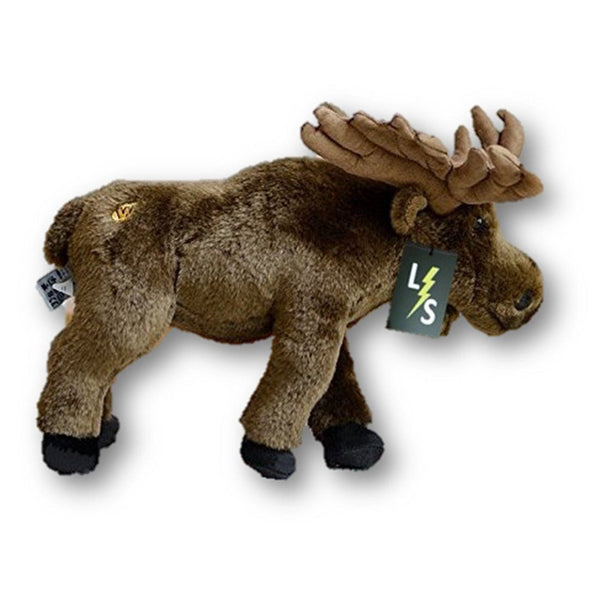 Toy - LightningStore Adorable Cute Brown Moose Deer Doll Realistic Looking Stuffed Animal Plush Toys Plushie Children's Gifts Animals