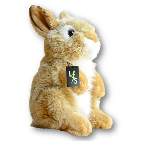 Toy - LightningStore Adorable Cute Brown Rabbit Stuffed Animal Doll Realistic Looking Plush Toys Plushie Children's Gifts Animals