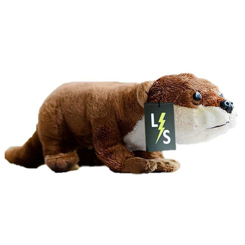 Toy - LightningStore Adorable Cute Brown Siberian Weasel Otter Beaver Doll Realistic Looking Stuffed Animal Plush Toys Plushie Children's Gifts Animals
