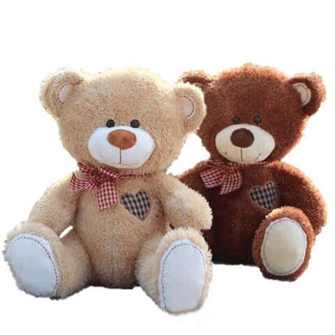 Toy - LightningStore Adorable Cute Brown Teddy Bear 2 Colors To Choose From Doll Realistic Looking Stuffed Animal Plush Toys Plushie Children's Gifts Animals