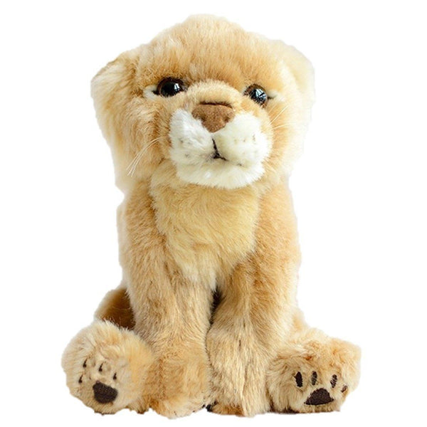 Toy - LightningStore Adorable Cute Cat Lion Lioness Baby Kitten Doll Realistic Looking Stuffed Animal Plush Toys Plushie Children's Gifts Animals