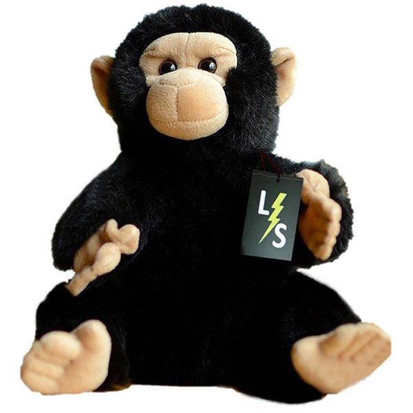 Toy - LightningStore Adorable Cute Chimpanzee Stuffed Animal Doll Realistic Looking Plush Toys Plushie Children's Gifts Animals