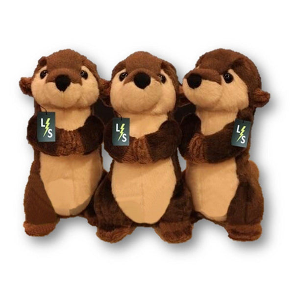 Toy - LightningStore Adorable Cute Chipmunk Otter Stuffed Animal Doll Realistic Looking Plush Toys Plushie Children's Gifts Animals