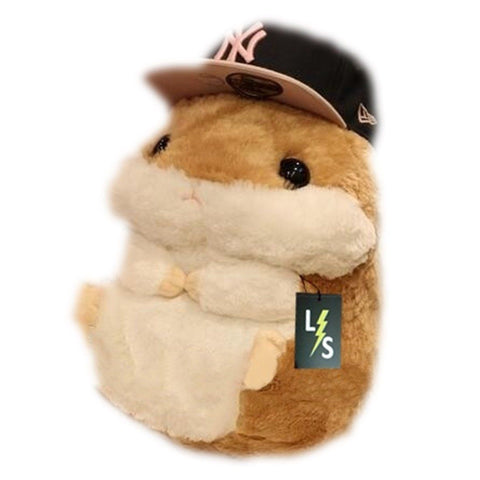 Toy - LightningStore Adorable Cute Fat Hamster Stuffed Animal Doll Realistic Looking Plush Toys Plushie Children's Gifts Animals