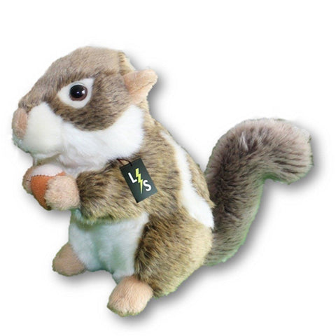 Toy - LightningStore Adorable Cute Gray Chipmunk Squirrel Stuffed Animal Doll Realistic Looking Plush Toys Plushie Children's Gifts Animals