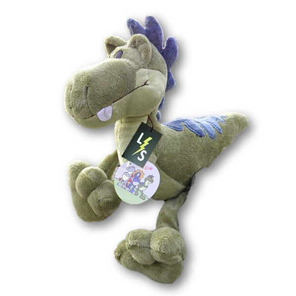 Toy - LightningStore Adorable Cute Green Crocodile Yellow Blue Triceratops Gray Grey Red Tyrannosaurus Rex Trex Dinosaur Stuffed Animal Doll Realistic Looking Plush Toys Plushie Children's Gifts Animals
