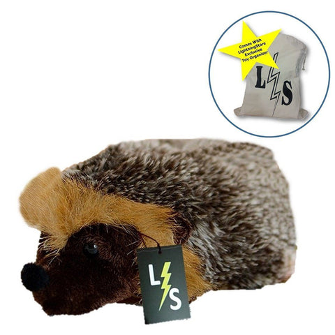 Toy - LightningStore Adorable Cute Hedgehog Doll Realistic Looking Stuffed Animal Plush Toys Plushie Children's Gifts Animals + Toy Organizer Bag Bundle