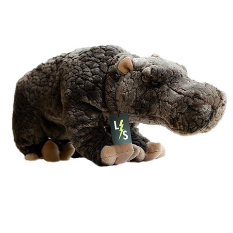 Toy - LightningStore Adorable Cute Huge Big Giant Large Baby Standing Hippo Hippopotamus Doll Realistic Looking Stuffed Animal Plush Toys Plushie Children's Gifts Animals
