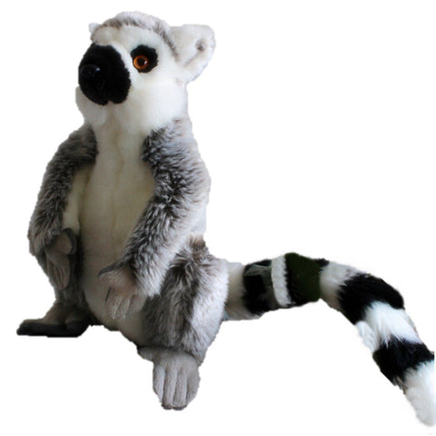 Toy - LightningStore Adorable Cute Lemur Doll Realistic Looking Stuffed Animal Plush Toys Plushie Children's Gifts Animals