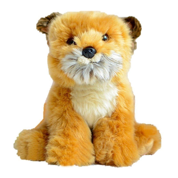 Toy - LightningStore Adorable Cute Lion Tiger Baby Cub Doll Realistic Looking Stuffed Animal Plush Toys Plushie Children's Gifts Animals