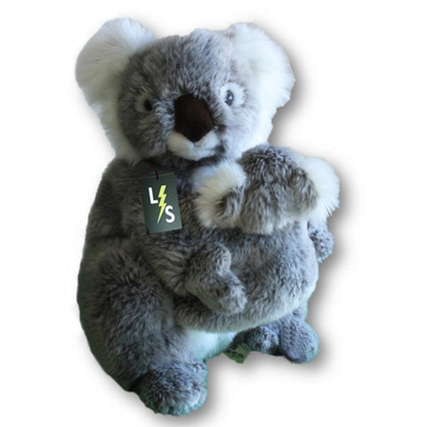 Toy - LightningStore Adorable Cute Mother Baby Koala Stuffed Animal Doll Realistic Looking Plush Toys Plushie Children's Gifts Animals