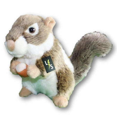 Toy - LightningStore Adorable Cute Nut Walnut Acorn Squirrel Stuffed Animal Doll Realistic Looking Plush Toys Plushie Children's Gifts Animals