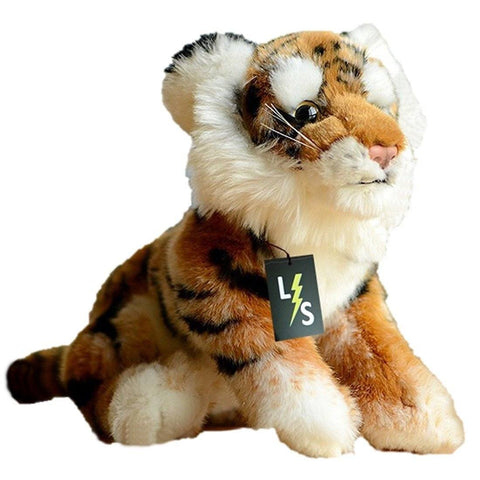 Toy - LightningStore Adorable Cute Orange And Black Siberian Tiger Stuffed Animal Doll Realistic Looking Plush Toys Plushie Children's Gifts Animals
