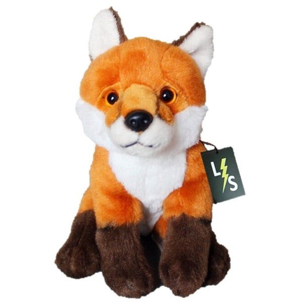 Toy - LightningStore Adorable Cute Orange Fox Wolf Doll Realistic Looking Stuffed Animal Plush Toys Plushie Children's Gifts Animals