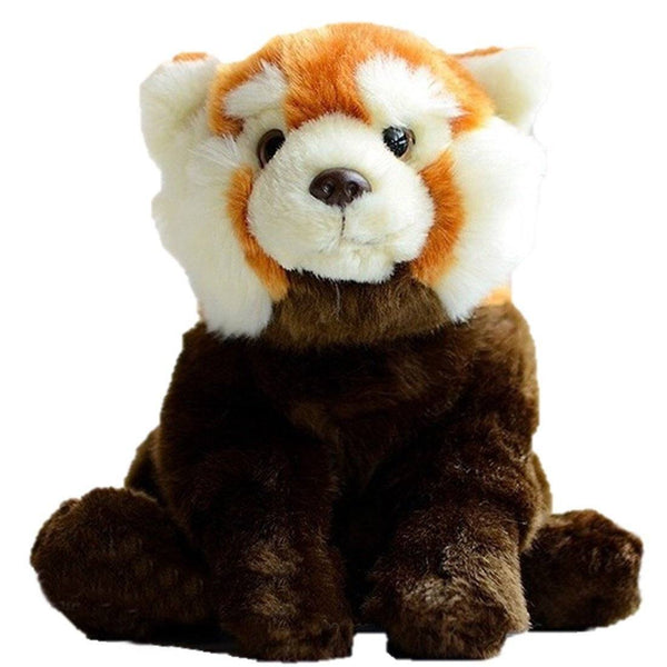 4dd85c7b0d10 Toy - LightningStore Adorable Cute Orange Racoon Panda Bear Fox Hybrid Doll  Realistic Looking Stuffed Animal