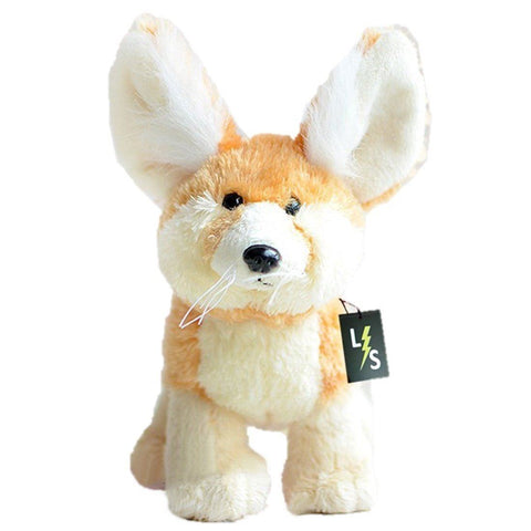 Toy - LightningStore Adorable Cute Orange Wolf Fennec Fox Stuffed Animal Doll Realistic Looking Plush Toys Plushie Children's Gifts Animals