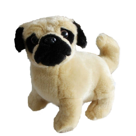 Toy - LightningStore Adorable Cute Pug Shar Pie Pit Bull Bull Mastif Dog Doll Realistic Looking Stuffed Animal Plush Toys Plushie Children's Gifts Animals