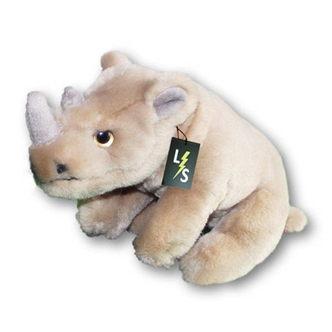 Toy - LightningStore Adorable Cute Rhinoceros Stuffed Animal Doll Realistic Looking Plush Toys Plushie Children's Gifts Animals