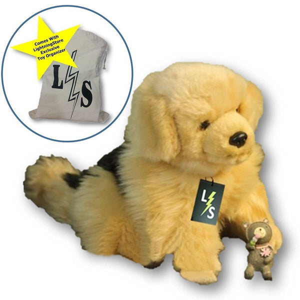 2b10cad38631 Toy - LightningStore Adorable Cute Sitting Border Collie German Sheperd  Puppy Dog Stuffed Animal Doll Realistic