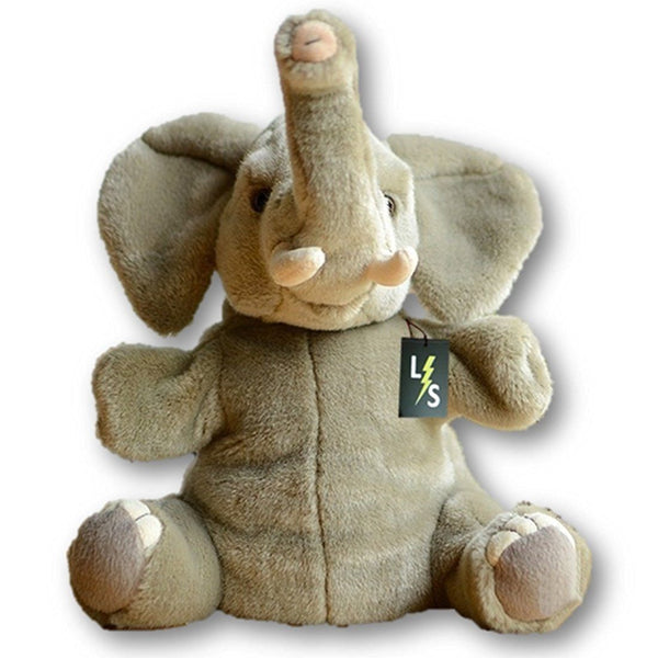 a4983a98a9e9 Toy - LightningStore Adorable Cute Sitting Elephant Stuffed Animal Doll  Realistic Looking Plush Toys Plushie Children's