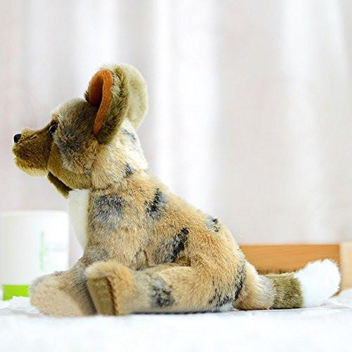 e78f596c57ff ... Toy - LightningStore Adorable Cute Sitting Jackal Hyena Stuffed Animal  Doll Realistic Looking Plush Toys Plushie ...