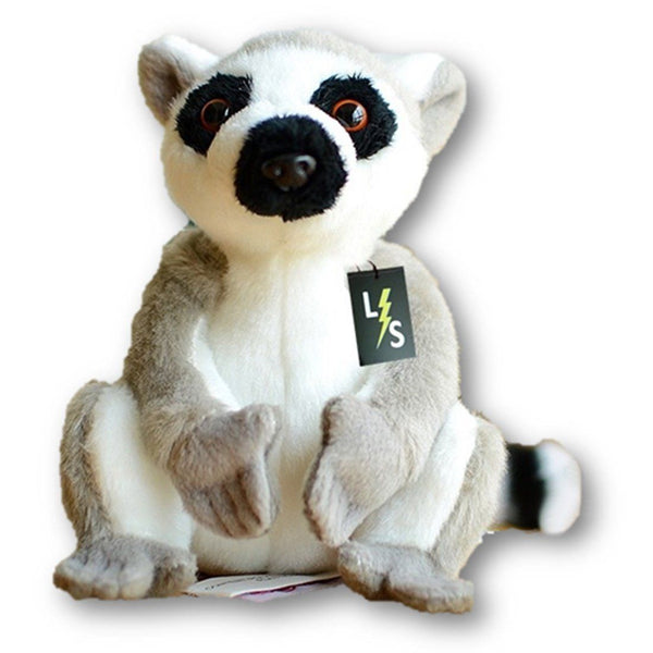 7aea388b6b51 Toy - LightningStore Adorable Cute Sitting Lemur Ring Tailed Monkey Stuffed  Animal Doll Realistic Looking Plush