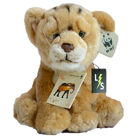 Toy - LightningStore Adorable Cute Sitting Lion Lioness Cub Baby Doll Realistic Looking Stuffed Animal Plush Toys Plushie Children's Gifts Animals