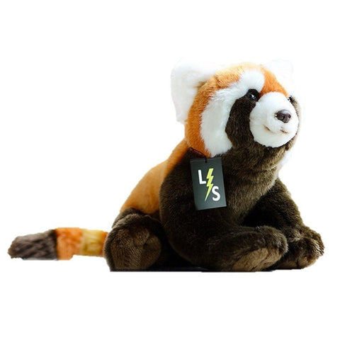 Toy - LightningStore Adorable Cute Sitting Orange And Black Red Panda Doll Realistic Looking Stuffed Animal Plush Toys Plushie Children's Gifts Animals