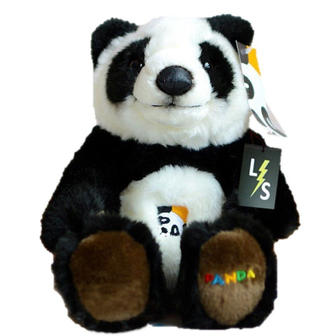 Toy - LightningStore Adorable Cute Sitting Panda Doll Realistic Looking Stuffed Animal Plush Toys Plushie Children's Gifts Animals