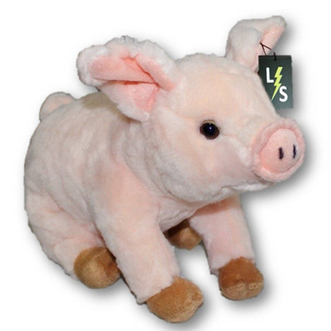 Toy - LightningStore Adorable Cute Sitting Pig Stuffed Animal Doll Realistic Looking Plush Toys Plushie Children's Gifts Animals