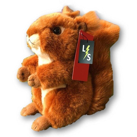 Toy - LightningStore Adorable Cute Sitting Squirrel Stuffed Animal Doll Realistic Looking Plush Toys Plushie Children's Gifts Animals