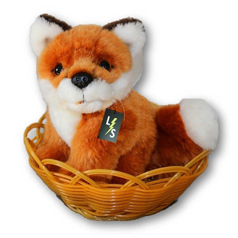 Toy - LightningStore Adorable Cute Small Baby Fox Stuffed Animal Doll Realistic Looking Plush Toys Plushie Children's Gifts Animals