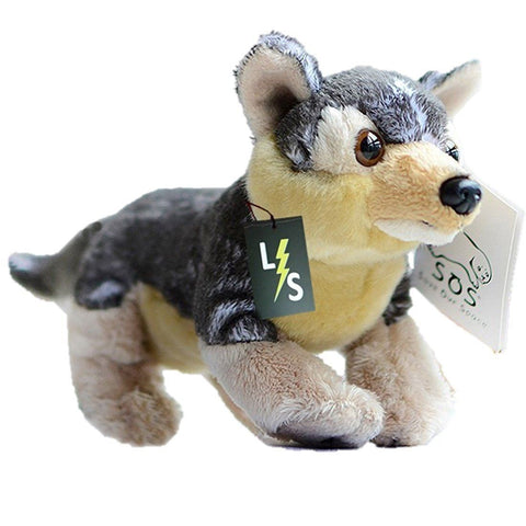 Toy - LightningStore Adorable Cute Timberwolves Siberian Husky Wolf Fox Doll Realistic Looking Stuffed Animal Plush Toys Plushie Children's Gifts Animals