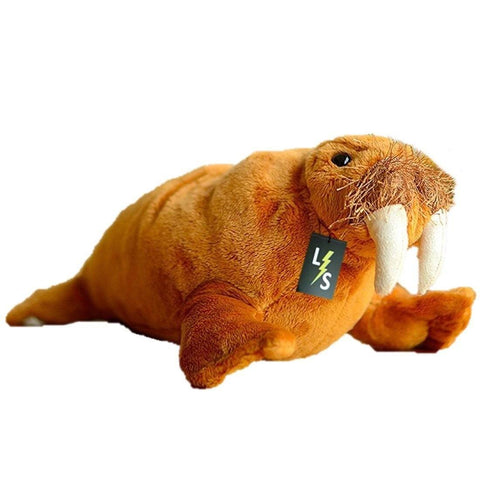 Toy - LightningStore Adorable Cute Walrus Stuffed Animal Doll Realistic Looking Plush Toys Plushie Children's Gifts Animals