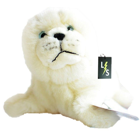 Toy - LightningStore Adorable Cute White Harp Seal Stuffed Animal Doll Realistic Looking Plush Toys Plushie Children's Gifts Animals