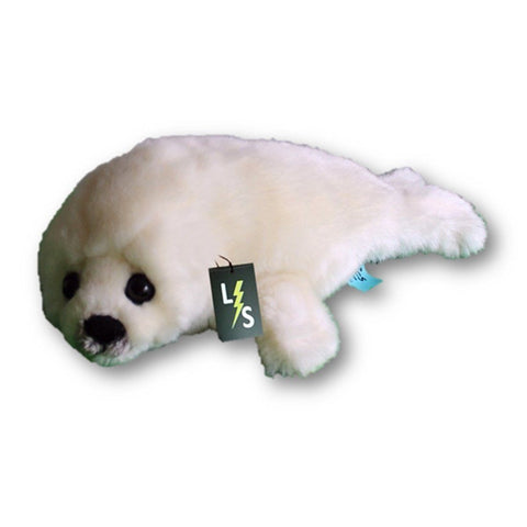 Toy - LightningStore Adorable Cute White Seal Stuffed Animal Doll Realistic Looking Plush Toys Plushie Children's Gifts Animals