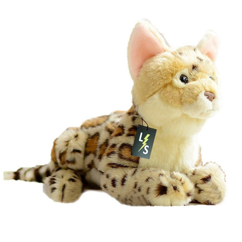 Toy - LightningStore Adorable Cute Wild Savanna Leopard Cat Hyena Cheetah Dingo Doll Realistic Looking Stuffed Animal Plush Toys Plushie Children's Gifts Animals